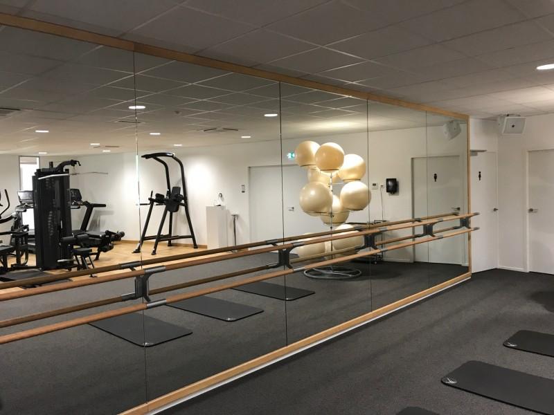salle d 39 entreprise miroir sport. Black Bedroom Furniture Sets. Home Design Ideas